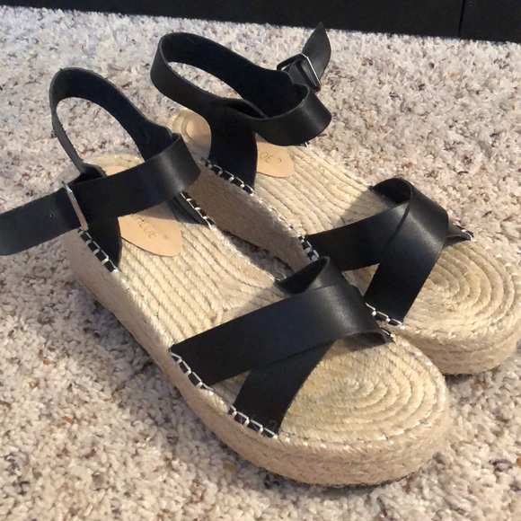 5218be47ee4 Chase + Chloe Shoes - Chase and Chloe espadrille wedge sandals
